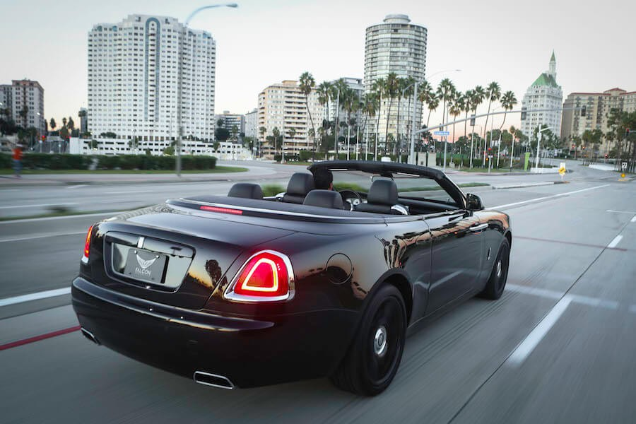 Rolls Royce rental lax