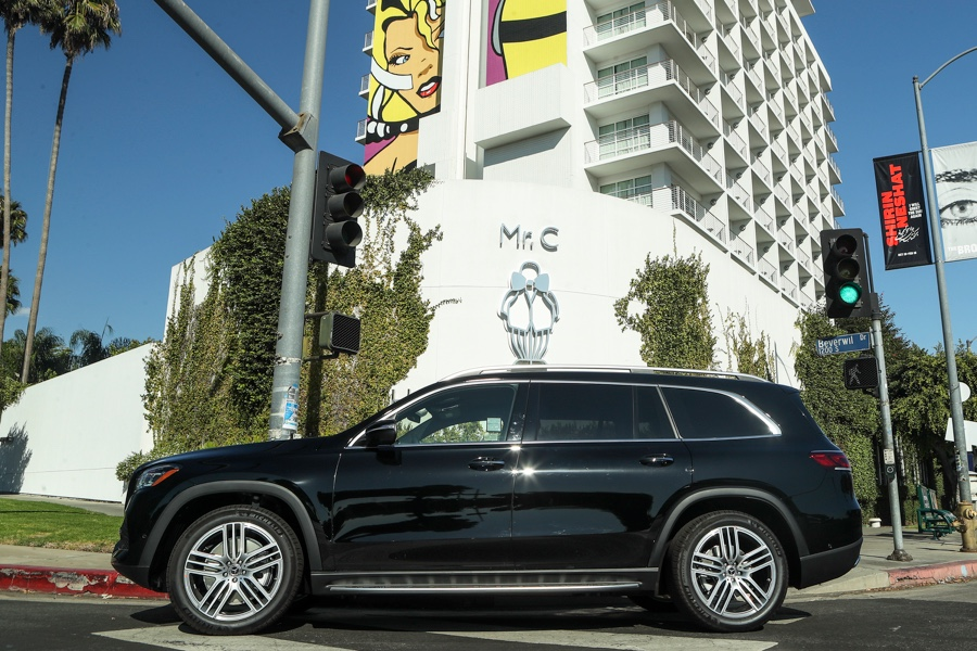 Rent Mercedes GLS Los Angeles