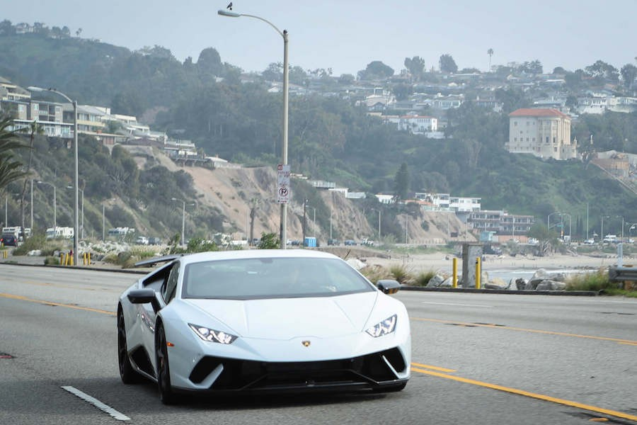 Lamborghini Huracan Performante Rental Beverly Hills