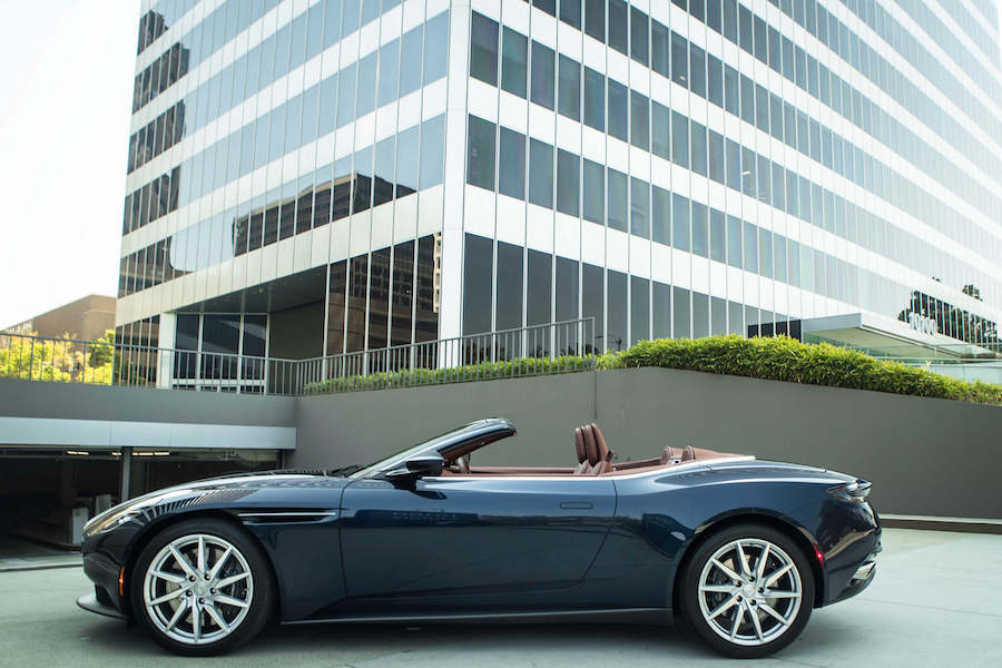 Aston Martin DB11 Rental Los Angeles