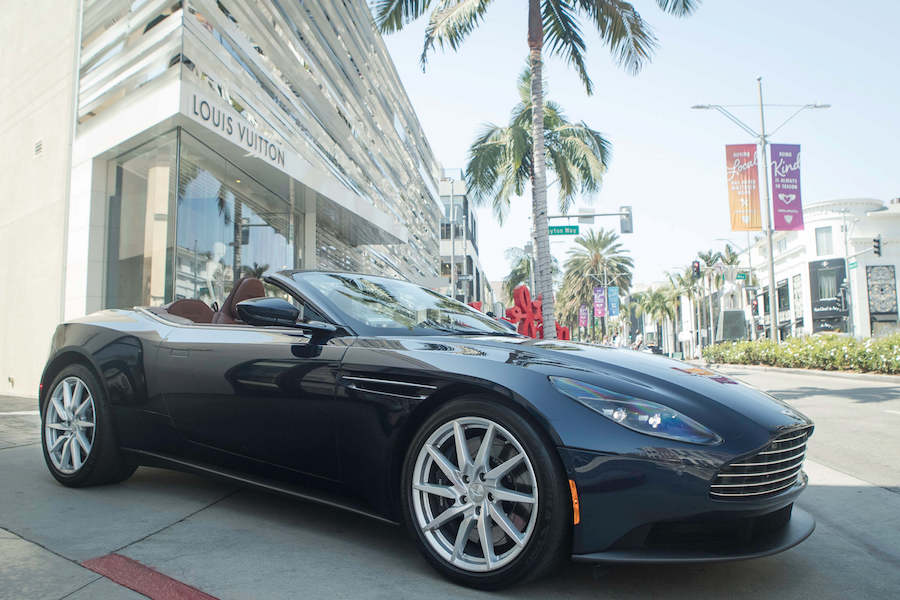Rent An Aston Martin DB11 Los Angeles