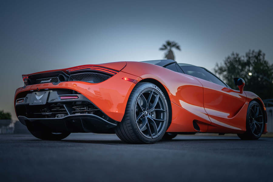 McLaren 720S Spider Rental Los Angeles