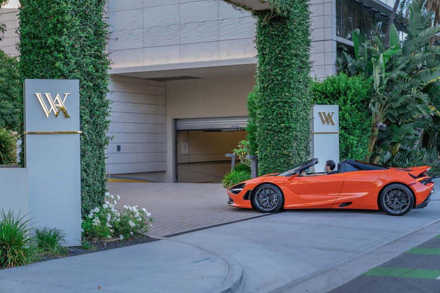 McLaren 720S Spider Rental